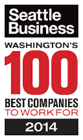 2014 Seattle's 100 Best Companies Award