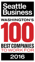 2016 Seattle's 100 Best Companies Award