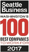 2017 Seattle's 100 Best Companies Award