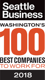 2018 Seattle's 100 Best Companies Award