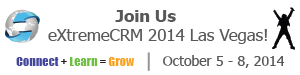 Join us at eXtremeCRM 2014 in Las Vegas