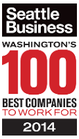 Seattle Business Washginton's 100 Best Companies to Work For 2014