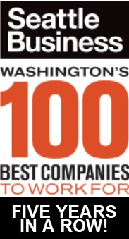 5 time Washington's 100 Best Companies to Work For